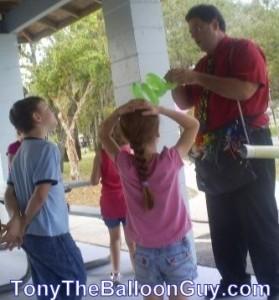 Company Picnics With Tony The Balloon Guy Central Florida