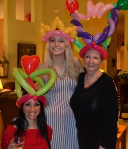 balloon princess hats