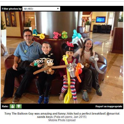 Tampa Balloon Artist Birthday Parties St Petersburg Orlando Clearwater Face Painting Pony Rides Magic Show Juggling Fortune Telling trip advisor