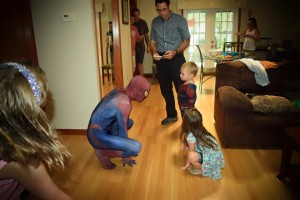 spider-man superhero for birthday parties and special events