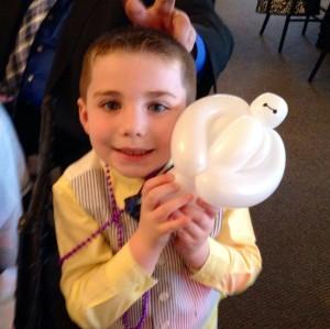 balloon baymax by tony the balloon guy